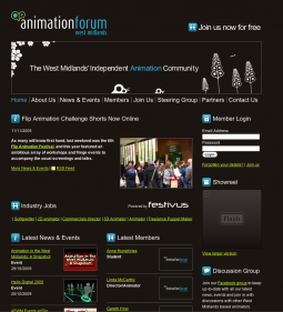 Animation Forum West Midlands
